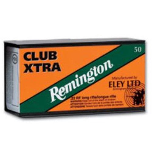 Remington/Eley Club 22 LR 40GR RN 50 Rounds