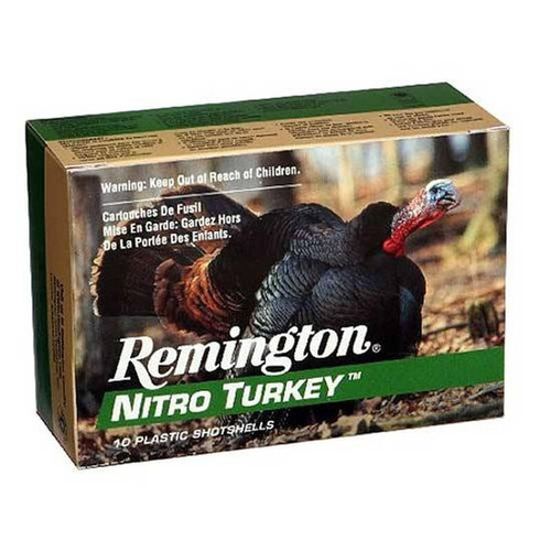 "Remington Nitro Turkey 12GA 3"" #6 Lead 1.875 oz 10 Rounds"