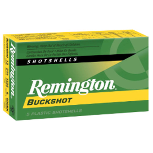 "Remington Express 12GA 2-3/4"" 000 Buckshot 8 Pellets 5 Rounds"