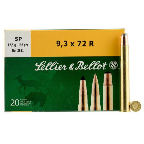 Sellier & Bellot 9.3mmx72R | SB9372RA