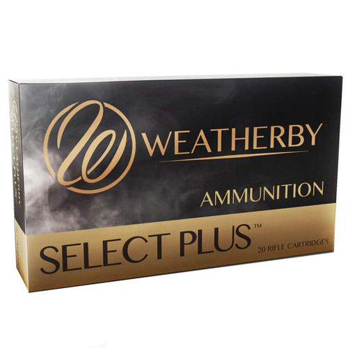 Weatherby Select Plus .300 Weatherby Magnum 20 Rounds 200GR Nosler Partition 3060 fps