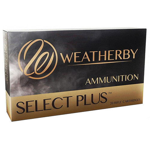 Weatherby Select Plus 340 Weatherby Magnum 250GR Nosler Partition Box of 20