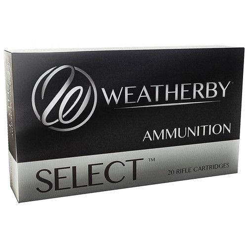 Weatherby Select 6.5-300 Weatherby Magnum 140GR Hornady InterLock Spire Point Box of 20