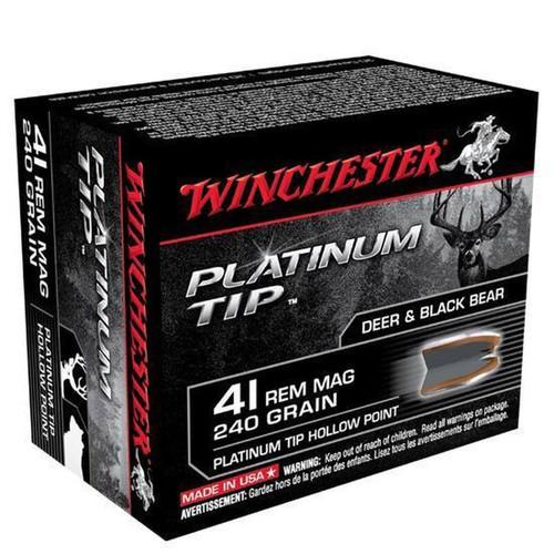 Winchester .41 Rem Mag 240GR Platnum HP 20 Rounds