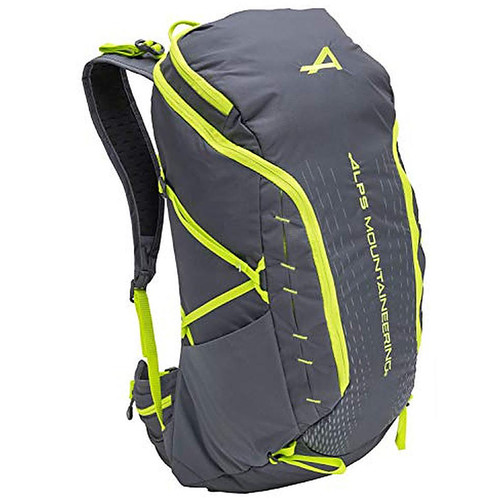 Alps Mountaineering Canyon Day Backpack 30L, Gray/Citrus