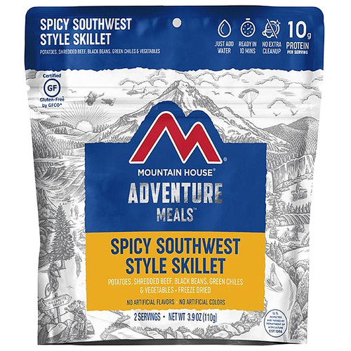 Mountain House Spicy Southwest Style Skillet Gluten Free Freeze Dried Food