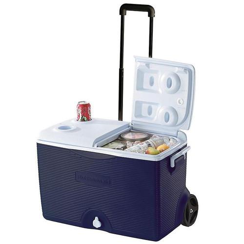 Rubbermaind 60 Qt. Wheeled Cooler