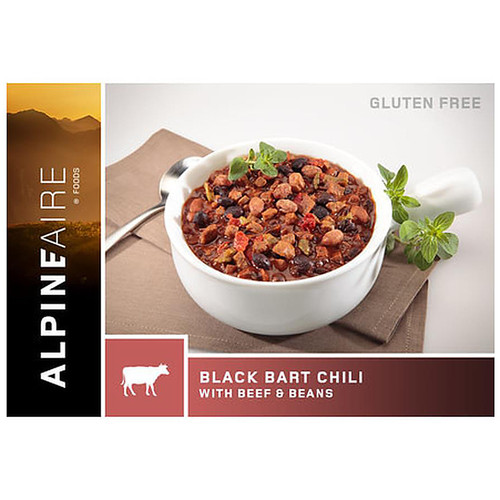 Alpine Aire Foods Black Bart Chili With Bean - 2 Servings 60407