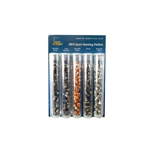 H&N Sport .22 Pellet Hunting Sampler Set