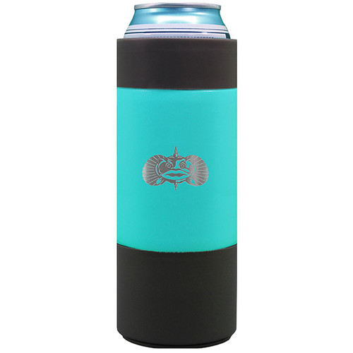 Toadfish Non Flip Slim Can Cooler Teal