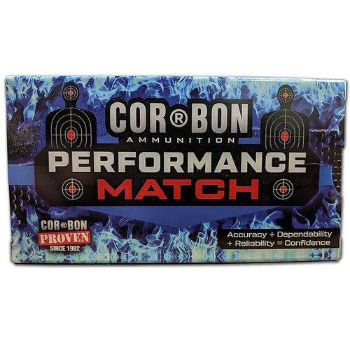 Cor-Bon Ammo 300 AAC Blackout 150GR FMJ 20 Rounds