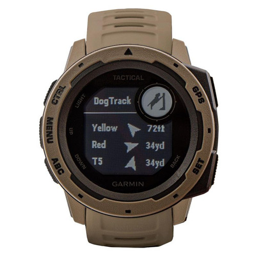 Garmin Instinct Tactical Coyote Tan GPS Watch