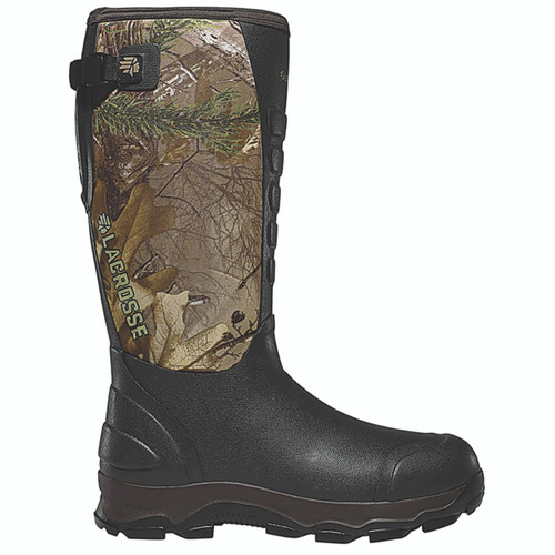 "LaCrosse Men's 4xAlpha 16"" Waterproof Hunting Snake Realtree Xtra Green Boots"