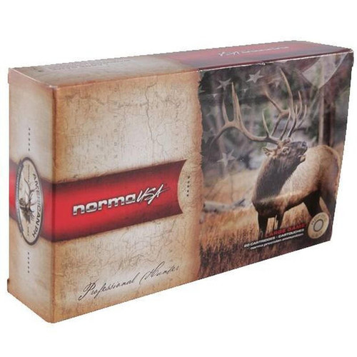 Ammo 6.5 Japanese Norma Hunting 156 Grain SP Bullet 2887 fps 20 Rounds