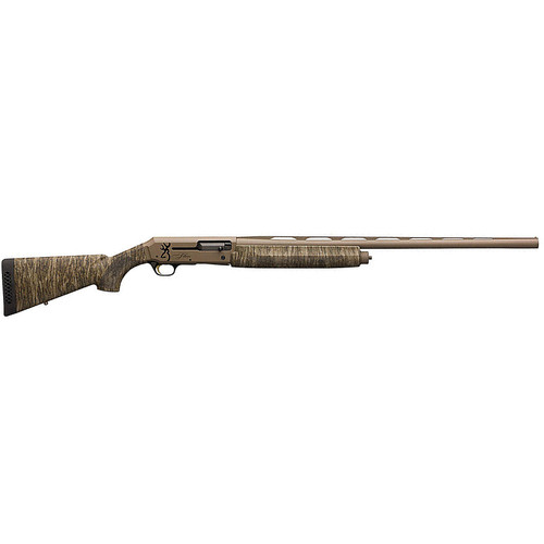 """Browning Silver Field 12 Gauge Semi Auto Shotgun 28"""" Barrel 3-1/2"""" Chamber 4 Rounds MOBL Synthetic Stock Flat Dark Earth Finish"""