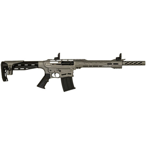 "LSI Citadel Boss-25 AR-style Shotgun, Semi-automatic, 12 Gauge, 18.75"" BBL, Tactical Gray, 5+1 Rds."