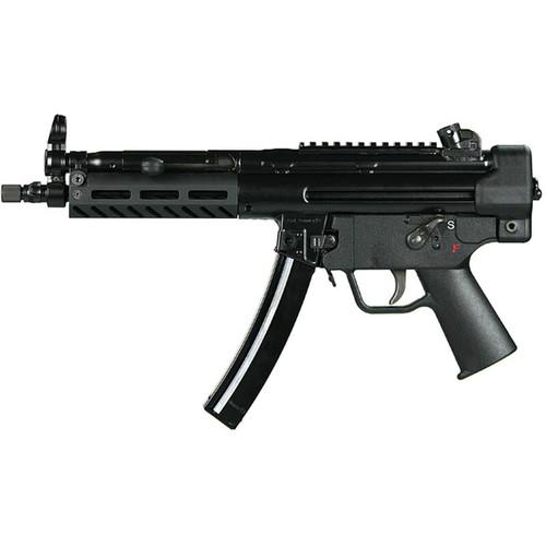 "PTR 9CT Semi Auto Pistol 9mm Luger 8.9"" Threaded Barrel 30 Rounds Aluminum M-LOK Handguard Polymer End Cap with Sling Swivel Black Finish"