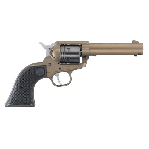 """Ruger Wrangler, .22 LR, 4.62"""" Barrel, 6rd, Burnt Bronze"""