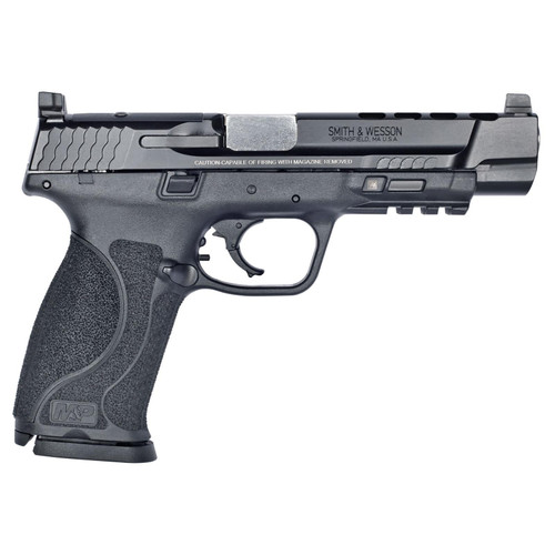 "S&W M&P M2.0 PERFORMANCE CENTER C.O.R.E. PRO 9MM 5"" PORTED BARREL PISTOL, BLACK - 11833"