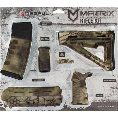 Matrix Diversified Industry AR-15 Magpul Furniture Kit Mil-Spec MAGMIL41HL