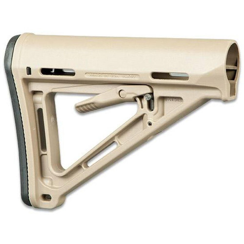 Magpul AR-15 MOE Stock Mil-Spec FDE Rubber Butt Pad Drop In Replacement