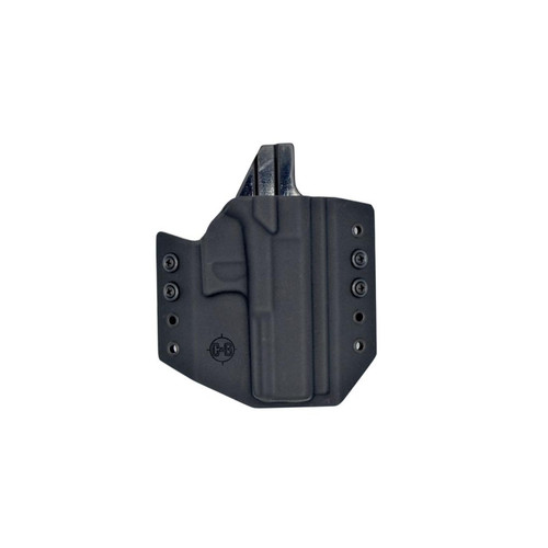 C&G Holsters OWB Covert Kydex Holster, Ruger, Color: Black