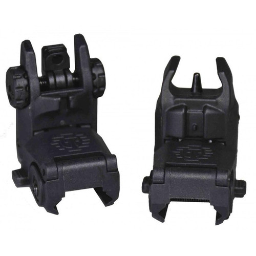 Tippmann Sports Front and Rear Flip Up Sights, Black