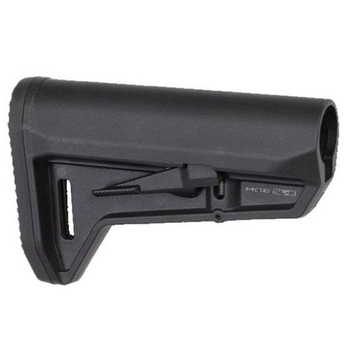 Magpul MOE SL-K AR-15 Carbine Stock Mil-Spec Diameter Compact PDW Style Stock Ambidextrous Release Latch Polymer Matte Black MAG626-BLK