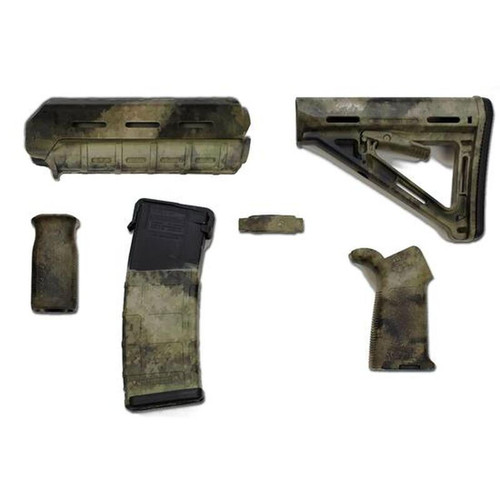 Matrix Diversified Industry AR-15 Magpul Furniture Kit Mil-Spec High Desert Finish MAGMIL01-HD