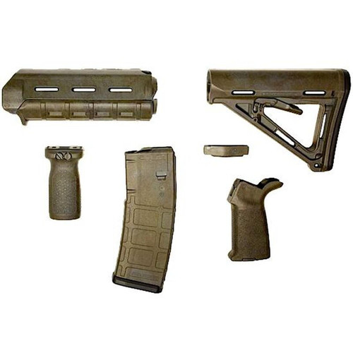 Matrix Diversified Industry AR-15 Magpul Furniture Kit Mil-Spec MAGMIL20BH