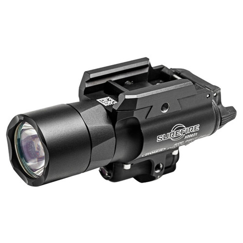 Surefire X400 Ultra Weapon Light LED with Green Laser, 2 CR123A Batteries
