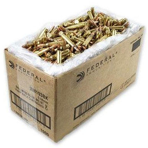 Federal American Eagle 55GR FMJBT .223 Ammo 1000 Loose Rounds