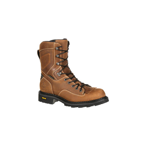 Georgia GB00122 Men's Comfort Core Waterproof Low Heel Logger Work Boots