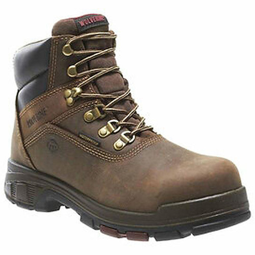 """Wolverine 10314 Men's Cabor Epx Waterproof Composite Toe 6"""" Boots"""