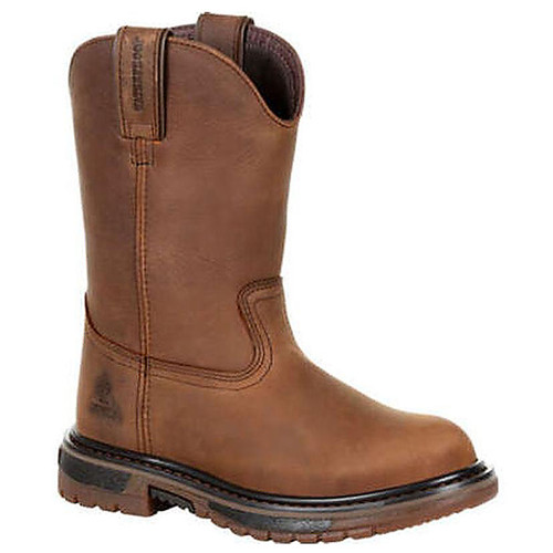Rocky Rkw0300Y Big Kid's Original Ride Flx Waterproof Western Boots