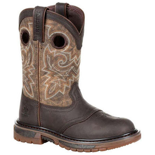 Rocky Rkw0301Y Big Kid's Original Ride Flx Western Boots