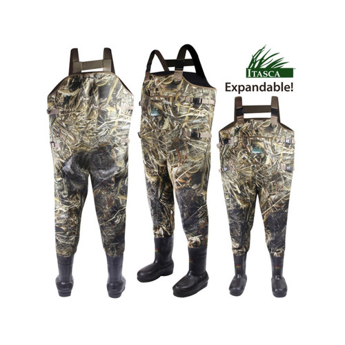 Itasca 6340830 Marsh King Expandable Insulated Max-5 Waders