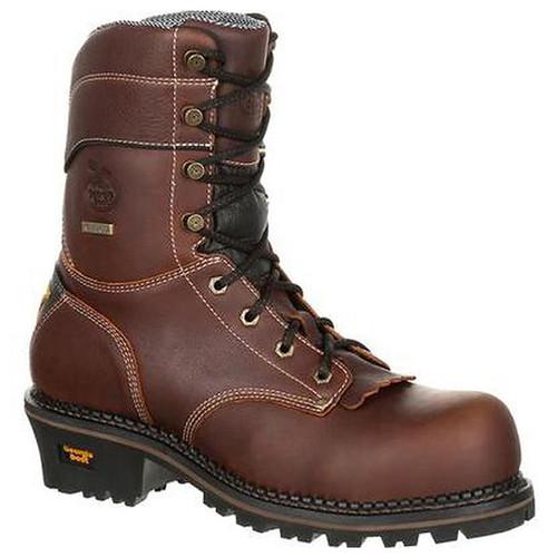 Georgia GB00235 Men's Amp Lt Logger Waterproof Work Boots