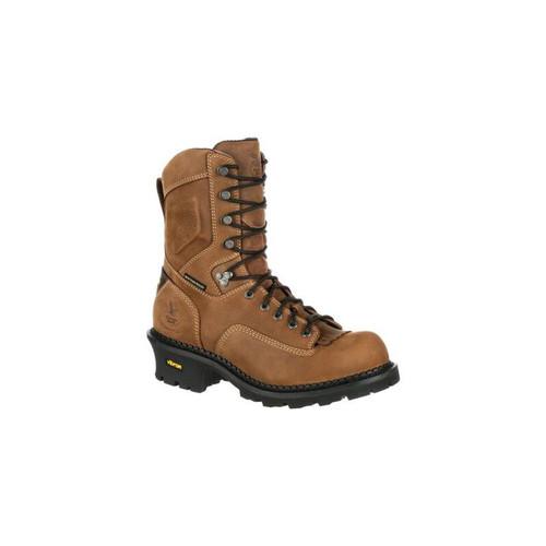 Georgia GB00097 Men's Comfort Core Logger Composite Toe Waterproof Vibram Outsole Boots