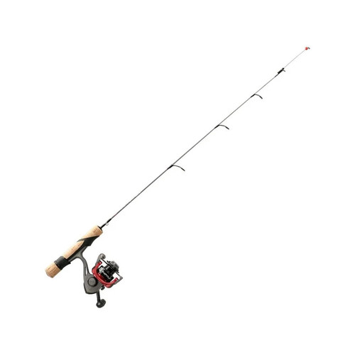 "13 Fishing Infrared Ice Fishing Spinning Combo - 28"" Medium, IC3-28M"