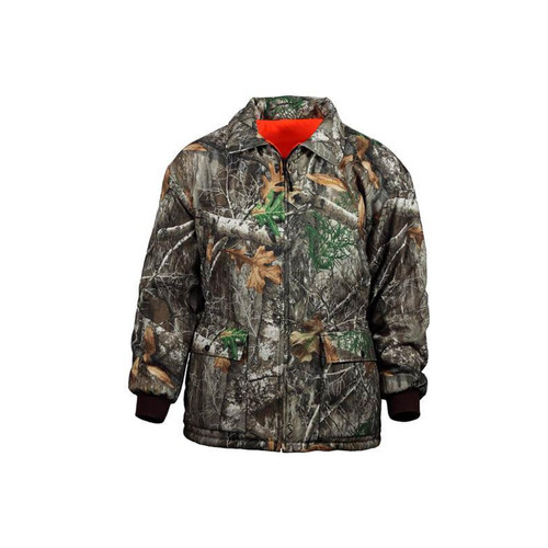 Core Resources Realtree Men's Reversible Insulated Windproof Parkas