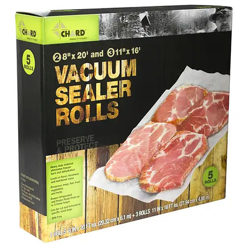 Chard Vacuum Sealer Roll Combo Pack