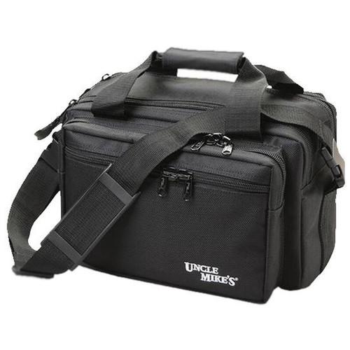 "Uncle Mike's Side Armor Soft Range Bag 17""x9""x5"" 1680 Denier Nylon Black 5341-1"