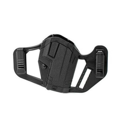 Uncle Mike's Apparition Holster S&W M&P Shield 9/.40/.45 IWB/OWB Ambi - 79100