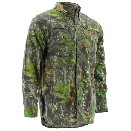 Nomad Mens NWTF Woven Shirt Long Sleeve Button Downs