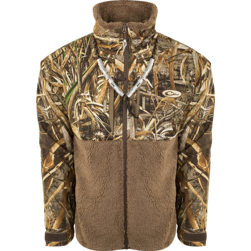 Drake MST Guardian Flex Sherpa Fleece Eqwader Full Zip Jackets