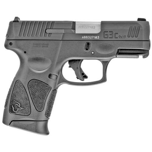 "TAURUS G3C 3.2"" 9MM PISTOL, BLACK - 1-G3C931"