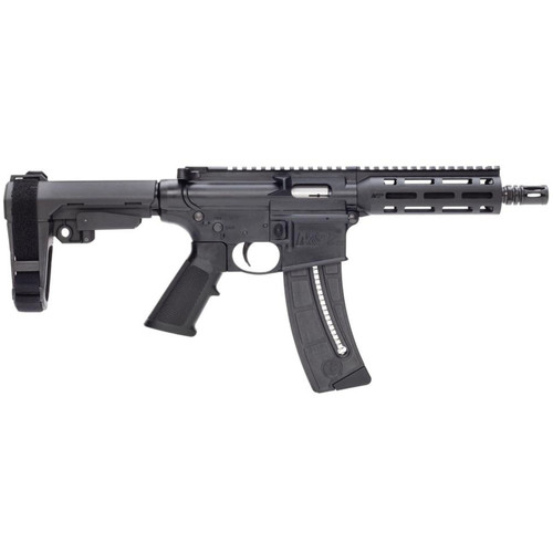 SMITH & WESSON M&P 15-22 .22LR AR-15 PISTOL OPTICS READY, BLACK - 13321