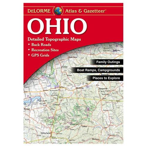 Delorme Ohio Atlas & Gazetter