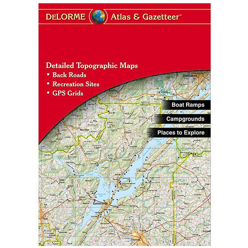 Delorme Indiana Atlas & Gazetter